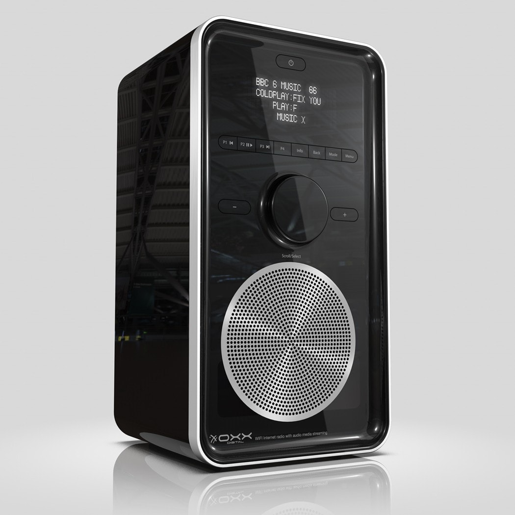 Oxx Classic Vertical - FM + DAB + internet