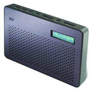 IRC – DAB+/Fm-radio – Canvas (Fåes både i sort og hvid)