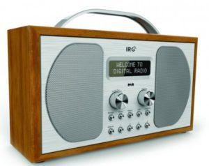 IRC – DAB+/Fm-radio – Epping (træ)