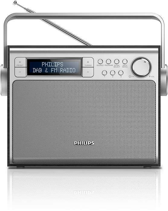 Philips transportabel DAB radio